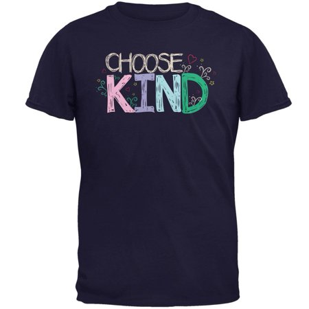 Anti-Bully Choose Kind Sketch Mens T Shirt (Anti Cyber Bullying)
