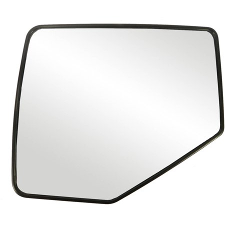 88209 - Fit System Driver Side Non-heated Mirror Glass w/ backing plate, Ford Explorer, Mercury Mountaineer 06-10, Explorer Sport Trac 07-10, Ranger 06-11, 6 1/ 8