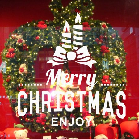 - Mosunx Merry Christmas Home Household Room Wall Sticker Mural Decor Decal Removable New