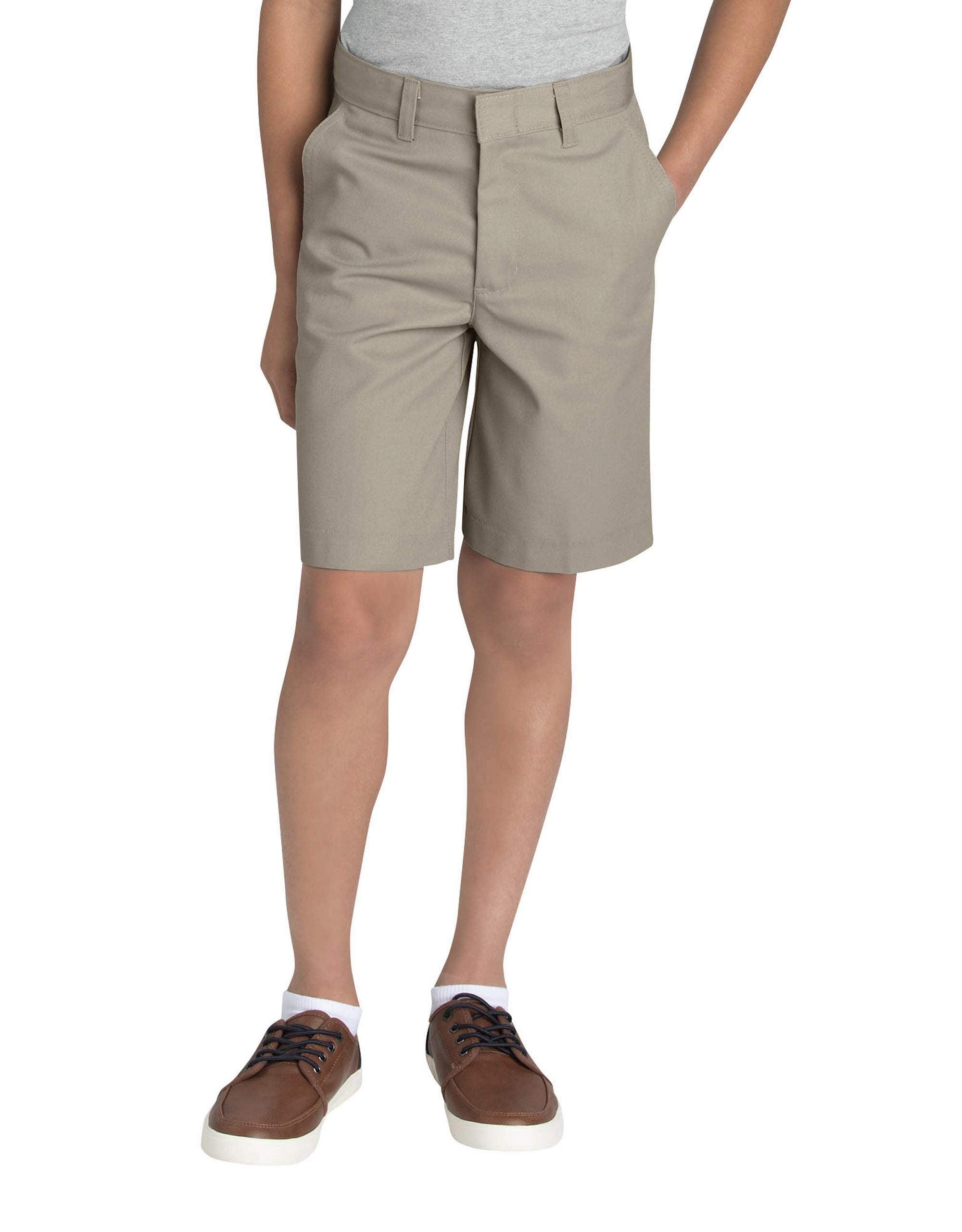 Dickies Boys Flex Waist Flat Front Short