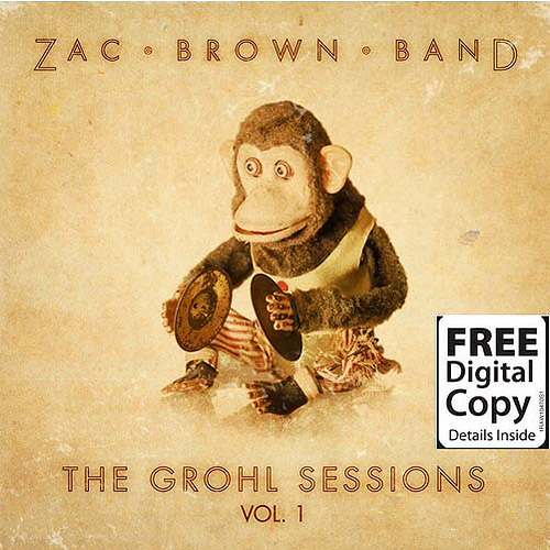 The Grohl Sessions, Vol. 1 (CD/DVD) (Free Digital Copy)