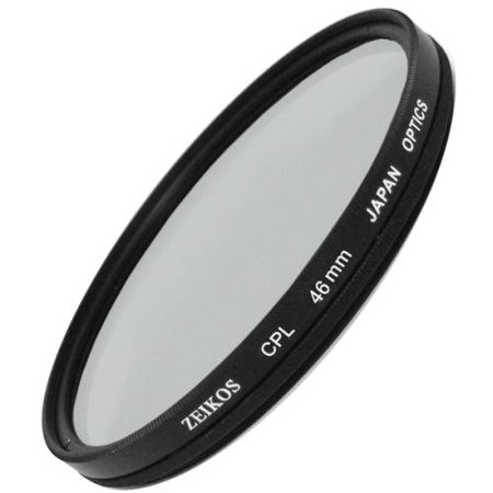 Zeikos 46mm Circular Polarizer Filter (GER)