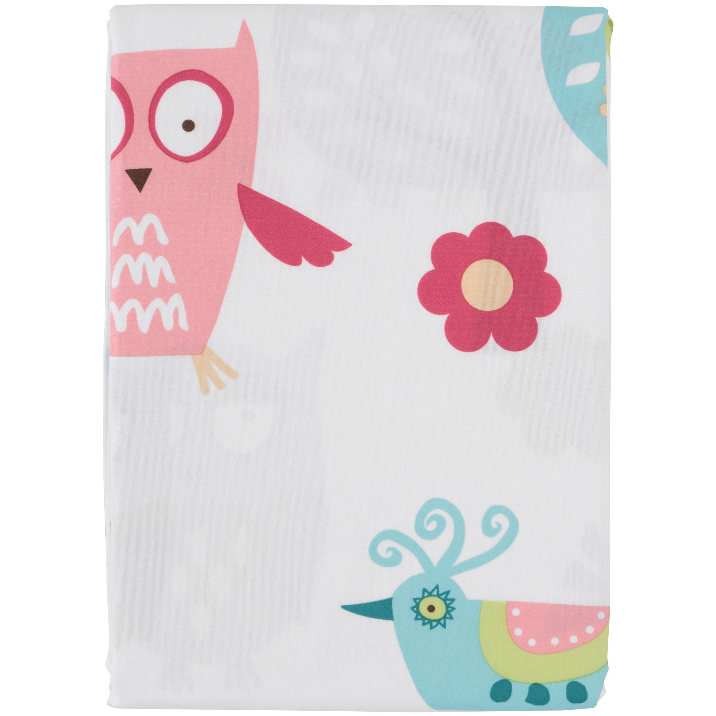Mainstays Kids Woodland Fabric Coordinating Shower Curtain