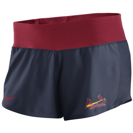 St. Louis Cardinals Nike Women's Performance Shorts - Navy