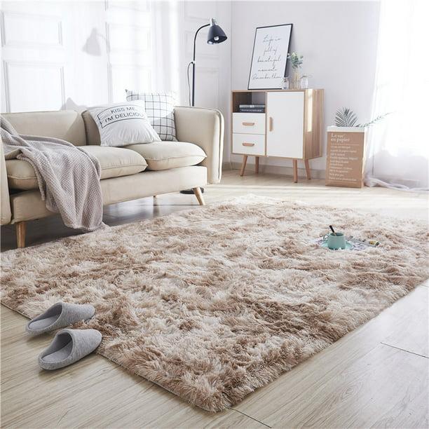 Large Fluffy Floor Area Rug Soft Plush, Floor Rugs For Living Room