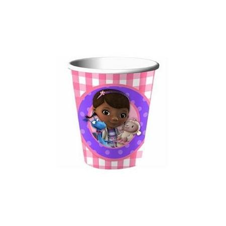Disney Junior Doc McStuffins 9 oz. Paper Cups](Doc Mcstuffins Cups)