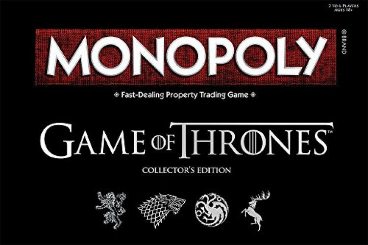 Monopoly: Game of Thrones Collector's Edition Board Game by USAOPOLY, Inc.