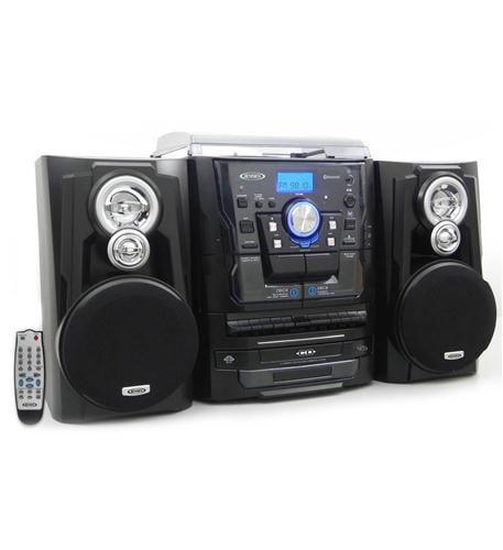 Jensen JEN-JMC-1250 3-Speed Stereo Turntable with Bluetooth by Jensen
