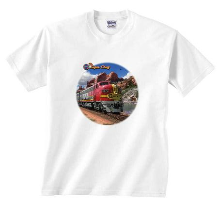 Lionel Trains Super Chief Santa Fe T-Shirt - Santa Uniform