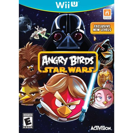 Angry Birds Star Wars - Nintendo Wii U - Angry Birds Halloween 1-4 Three Stars
