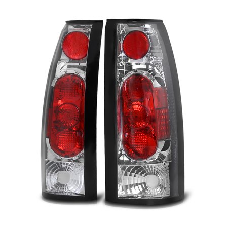2500 Tail Light Lh Driver - VIPMotoZ 1988-2002 Chevrolet GMC C/K 1500 2500 3500 Pickup Tail Lights, Driver & Passenger Side