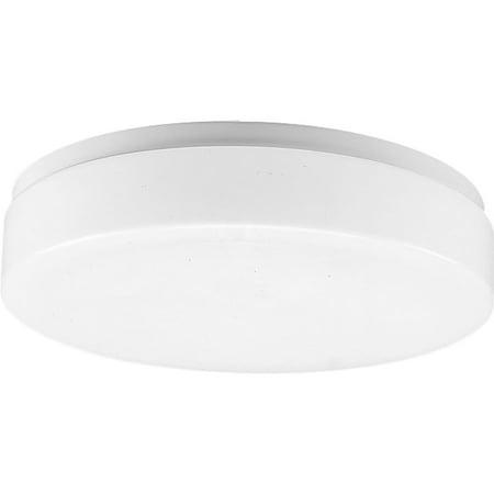 One-Light Acrylic Cloud 11u0022 CFL Close-to-Ceiling