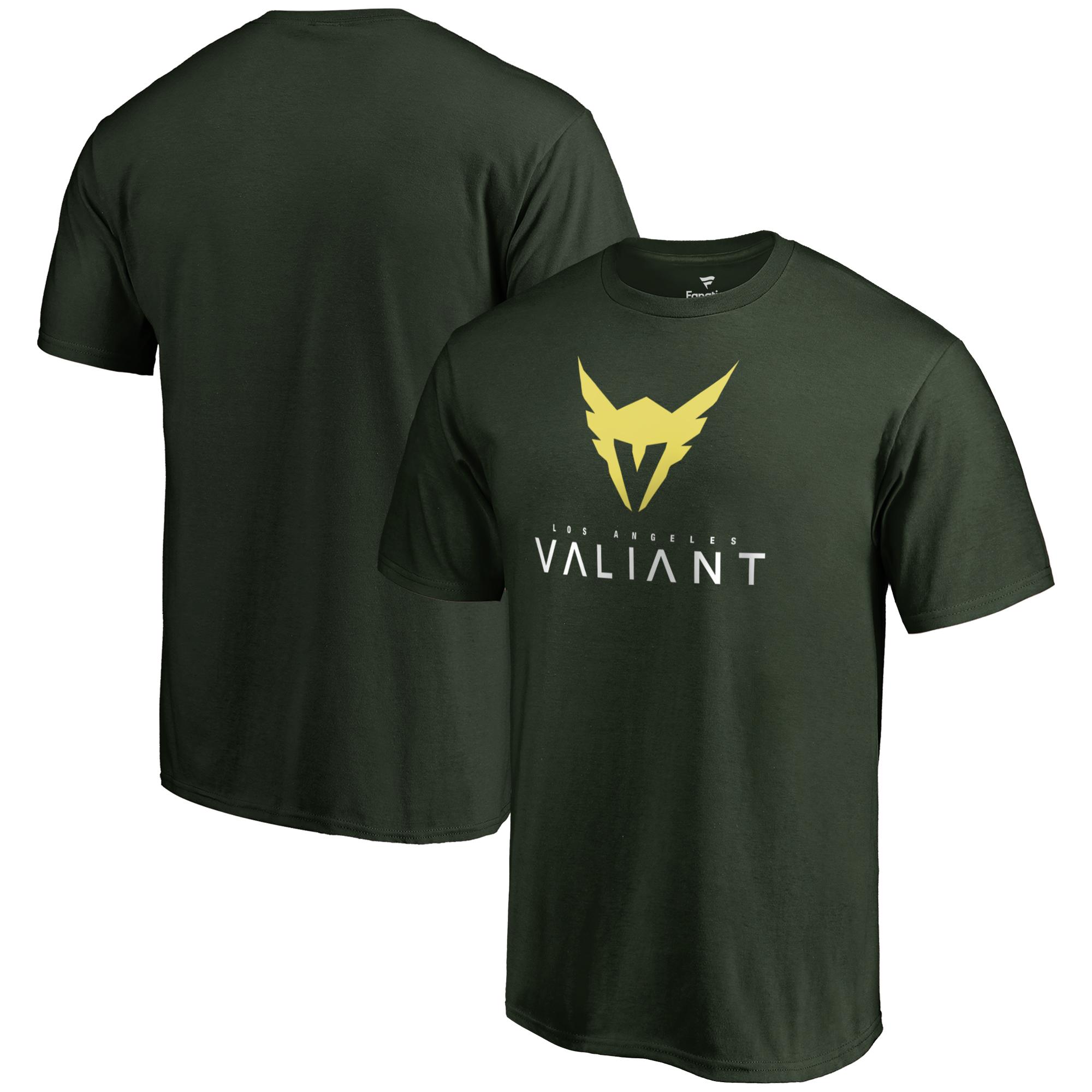 Los Angeles Valiant Fanatics Branded Team Identity T-Shirt - Green