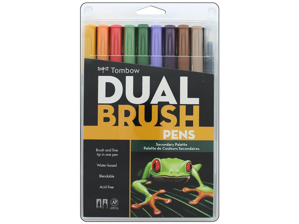 Tombow dual brush pen set secondary pc walmart