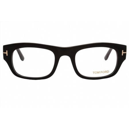 tom ford eyeglasses ft5415 001 shiny (Mens White Eyeglass Frames)