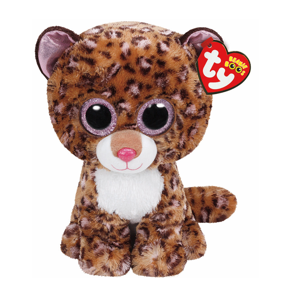 TY Beanie Boo Plush - Patches the Leopard 6""