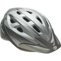 Bell Rig Fang Bike Helmet, Silver Titanium, Adult 14+ (57-61cm)