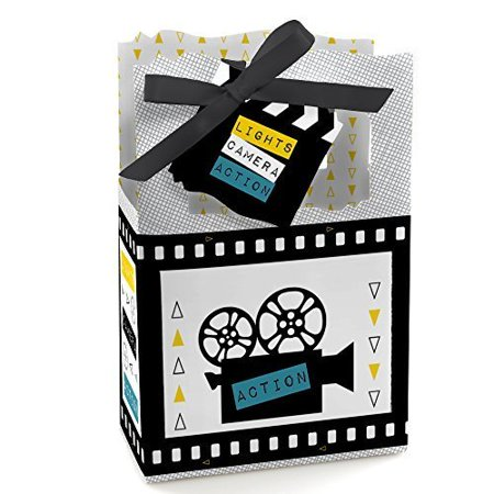 Movie - Hollywood Party Favor Boxes - Set of 12](Movie Party)