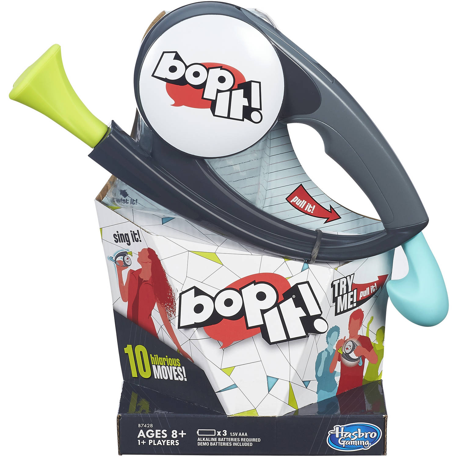 Bop It Game By Hasbro Games Walmart Com