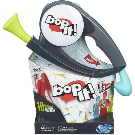 Classic Bop It! Game with 10 Fun Moves for Kids Ages 8 and (Best Games With Friends)