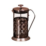 Ovente  FSF20C Flower Stainless Steel French Press Coffee Maker