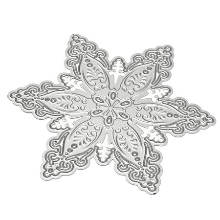 Metal Snowflak Christmas Cutting Dies DIY Scrapbooking Album Paper Card Decor - Christmas Scrapbook