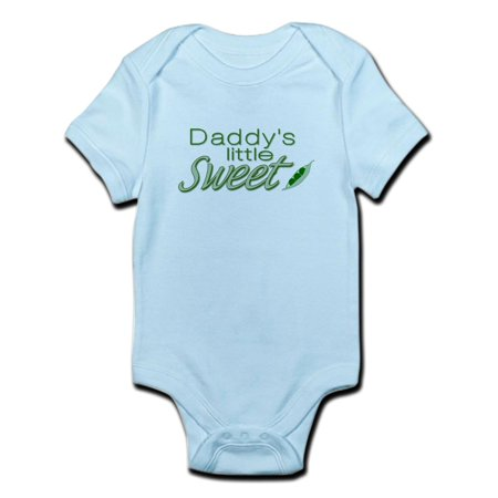 CafePress - Daddy's Sweet Pea Infant Bodysuit - Baby Light Bodysuit - Sweet Pea Popeyes Baby