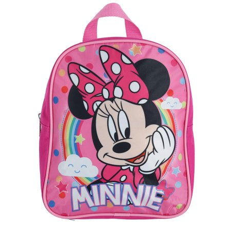 Disney Girl's Minnie Mouse Rainbow 10-inch Backpack - image 3 of 3