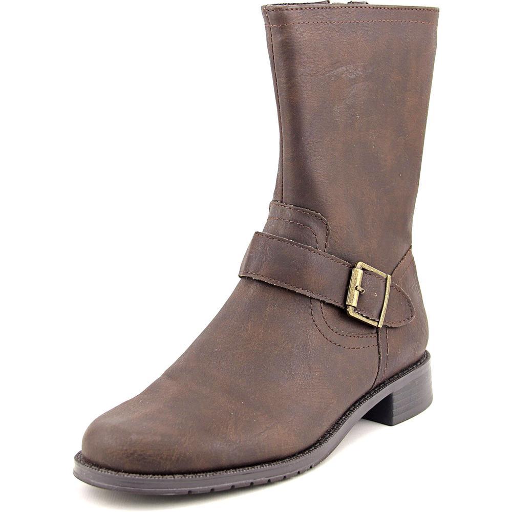 Aerosoles Bridesmaid Round Toe Leather Mid Calf Boot by Aerosoles