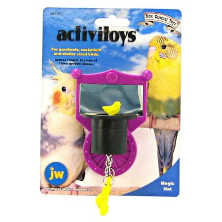 JW Activitoys Magic Hat Plastic Bird Toy Magic (Jw Bird Claw Clipper)