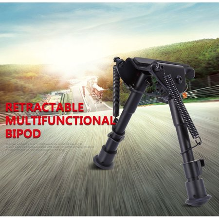 EECOO Rifle Gun Stand AR Bipod SWAT OP Adjustable Mount Height Rail