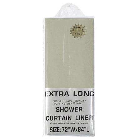 Linen Extra Long 5 Gauge Vinyl Shower Curtain Liner 72 X84