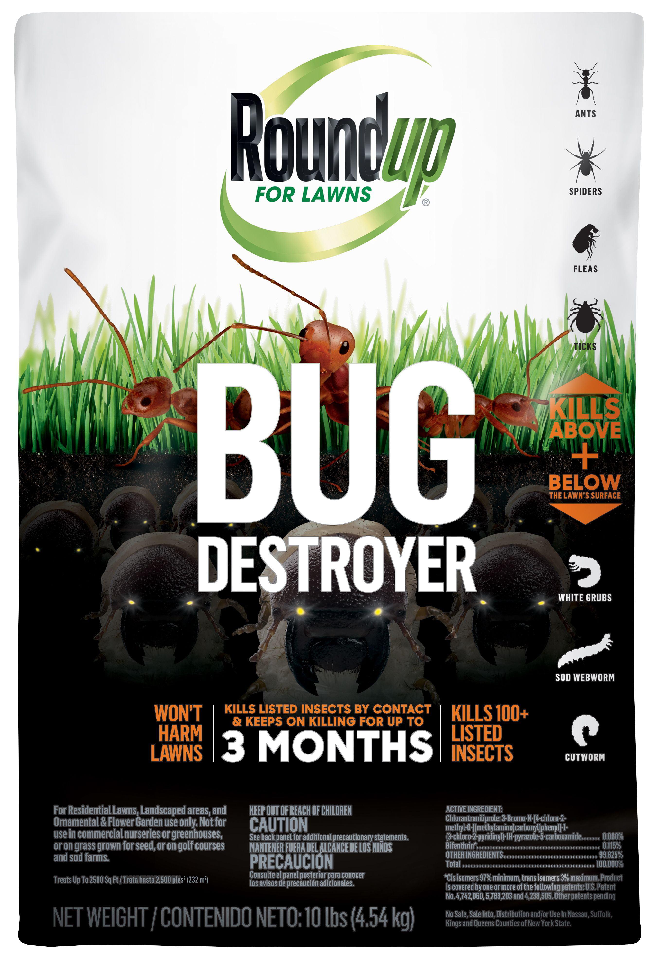 Roundup For Lawns Bug Destroyer Walmart Com Walmart Com