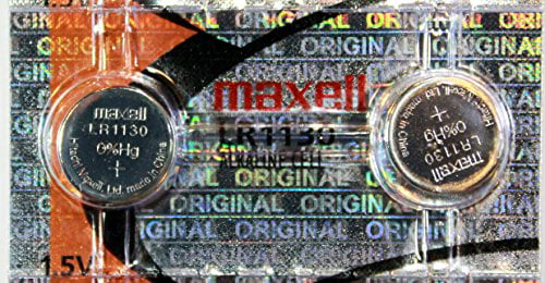 2 Batteries 2 Pack Maxell LR1130 189 389 Alkaline Coin Cell Battery