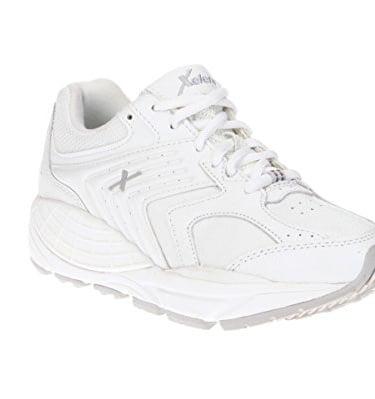 Xelero Matrix Men's Comfort Therapeutic Extra Depth Sneaker White/Navy Mesh 9D(M)