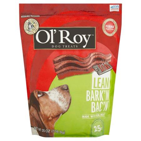Ol Roy  Barkn Bacn Lean Beef Flavor Dog Treats  25 Oz