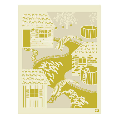 emma at home by Emma Gardner Pop Japan Japanese River Graphic Art