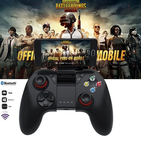 Mobile Game Controller,Wireless Bluetooth Gamepad Remote Control Joystick  for PUBG IOS/Android Phone/Samsung Gear VR/Tablet/TV Box/Emulator