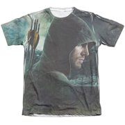 Arrow Hero (Front Back Print) Mens Sublimation Shirt