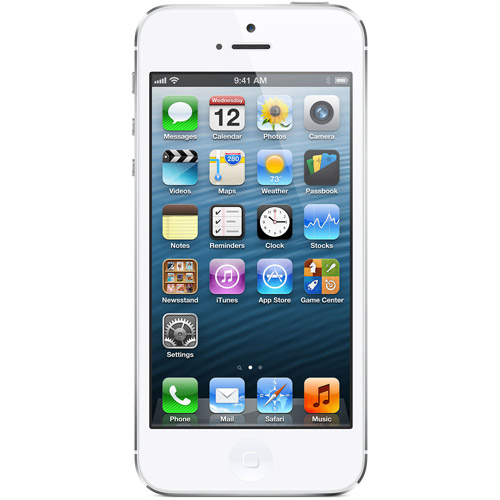 Straight Talk Apple iPhone 5 32GB with Bonus $45 Unlimited Plan, White