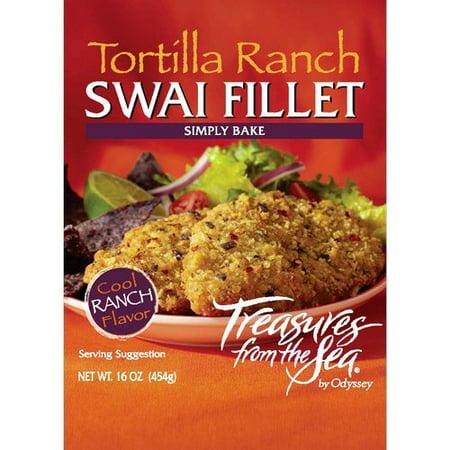 Treasures from the sea tortilla ranch swai fillet 16 oz for Swai fish walmart