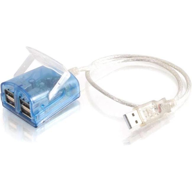 C2G USB 4-PRT LAPTOP HUB W/LED