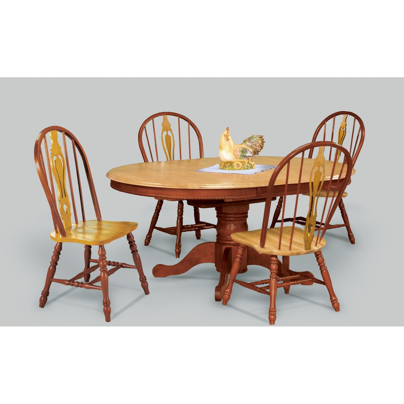 Sunset Trading 48 Inch Round Dining Table With Butterfly Leaf   Walmart.com