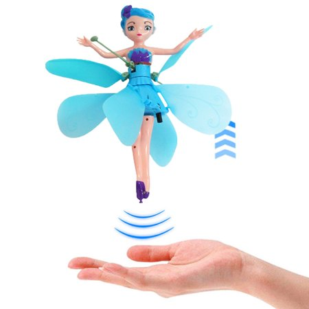 Flying Fairy Doll - Magic and Best Gift for Girl Kids Children Toy - Infrared Induction and Remote Control Toys - Birthday Present for (Best Flying Toys 2019)