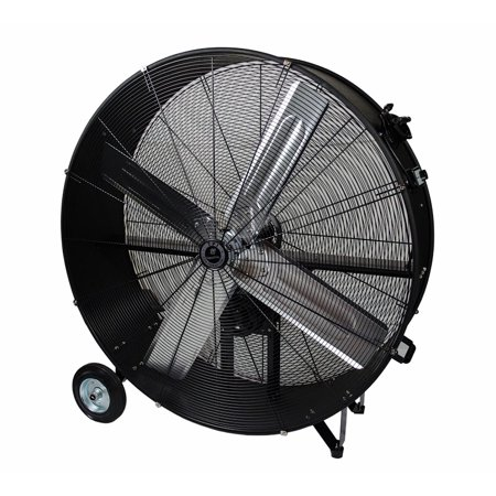 TPI CPB48-B 48 Inch Commercial Grade Belt Drive Air Blower - Galvanized Belt Drive Fan