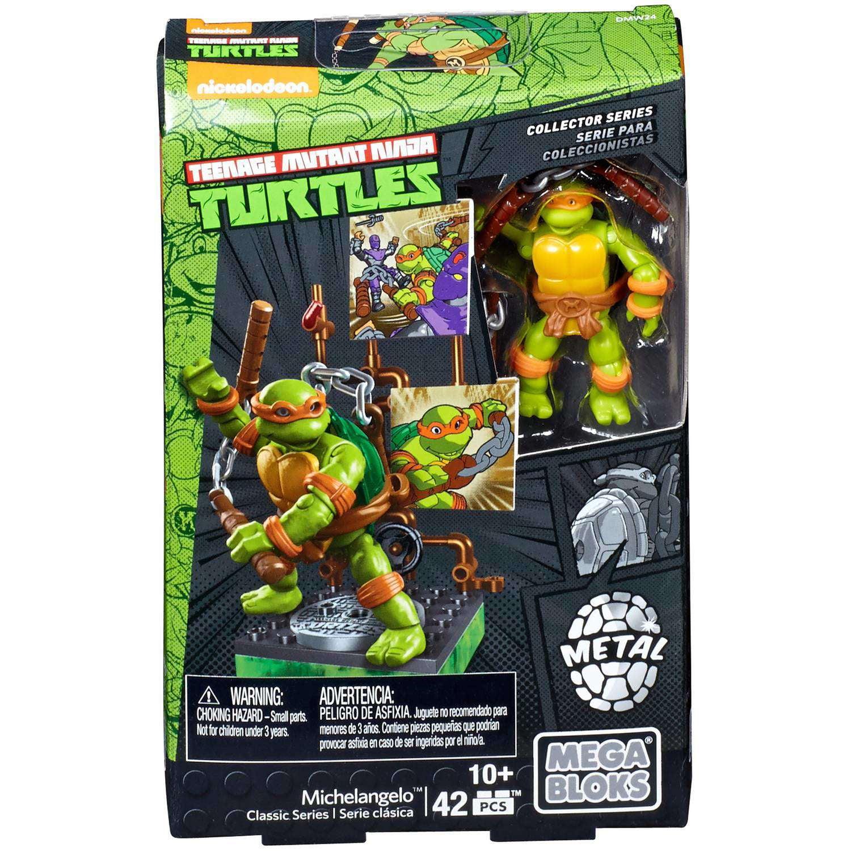 Mega Bloks Teenage Mutant Ninja Turtles Michaelangelo by Mattel
