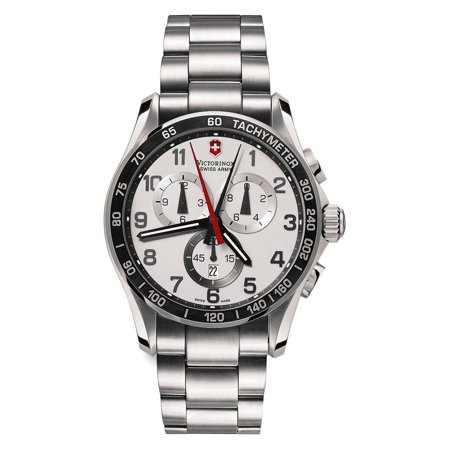 Victorinox Swiss Army Chrono Classic XLS Mens Stainless Steel Watch Date 241213 ()