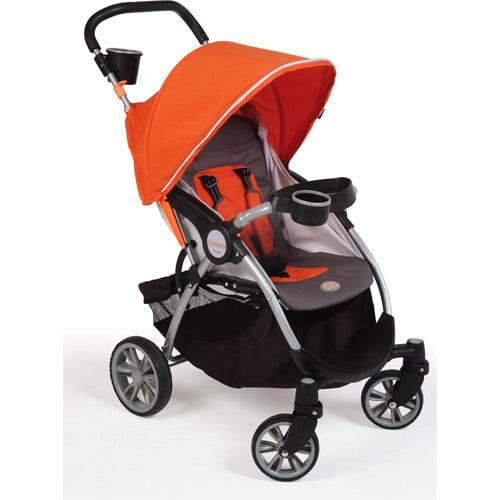 Contours - Lite Stroller, Tangelo