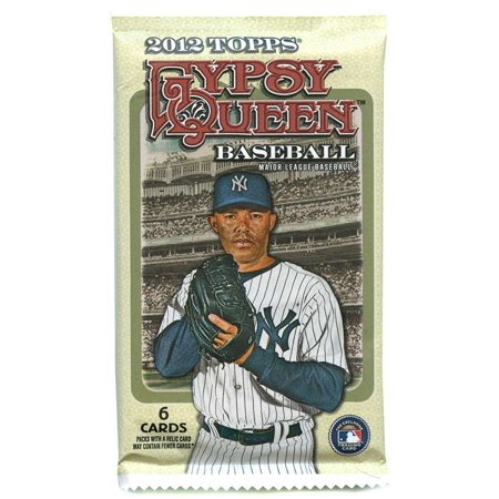Mlb 2012 Topps Gypsy Queen Baseball Cards Trading Card Pack