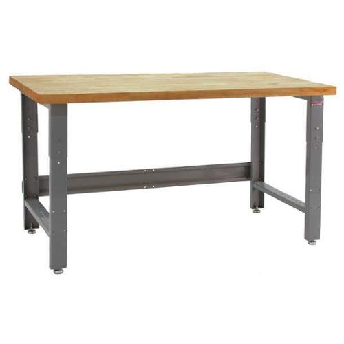 BENCHPRO RW2460 Ergo Workbench, Gray, 60Lx24Wx30H In. by VALUE BRAND